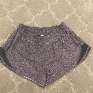 Lululemon size 6 grey shorts